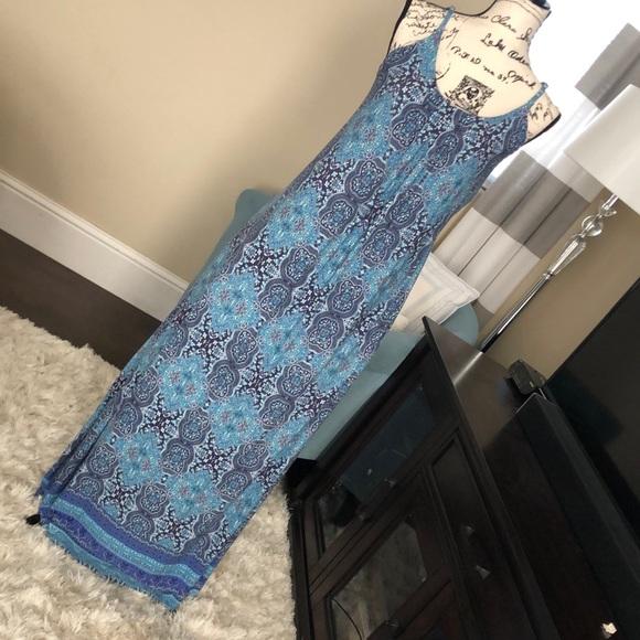 Cynthia Rowley Dresses & Skirts - Cynthia Rowley Spaghetti Strap Maxi Dress (EUC)
